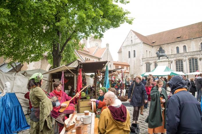 Der 33. Mittelaltermarkt in der Löwenstadt. Foto: BSM