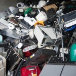 Elektrogeräte aller Art werden auf dem Recyclinghof gesammelt. Foto: BSM