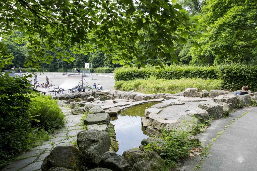 Chillen auf der Rollo im Prinzenpark