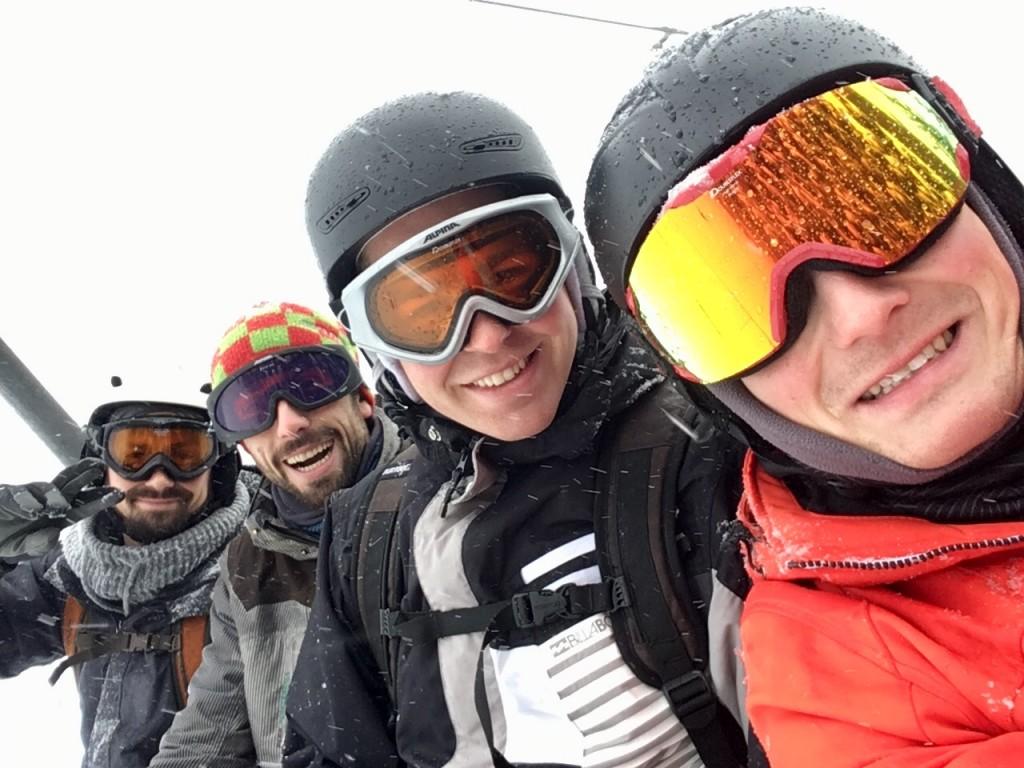 Snowboardfahrer auf dem Wurmberg. Foto: BSM