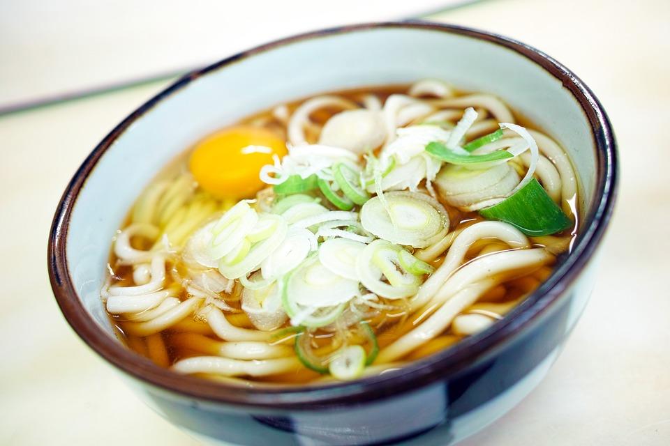 Ramen- und Udon-Nudeln sind typisch für die japanischen Küche. Foto: Pixabay