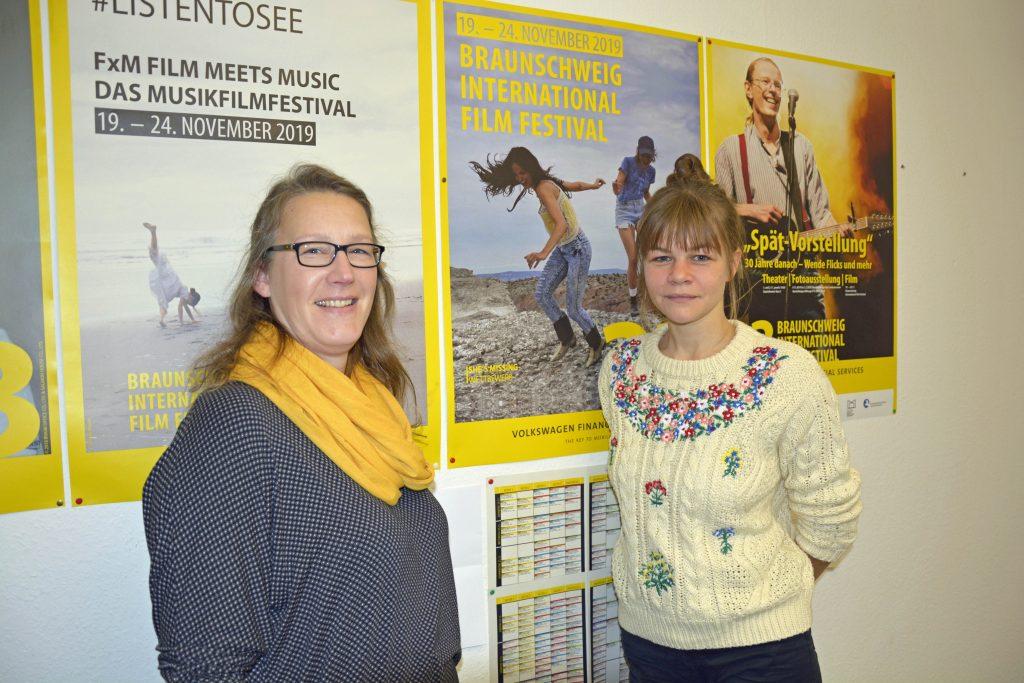 Bianca Apmann (links) und Karina Gauerhof