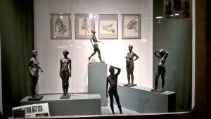 Schaufenster mit Kunst von Holger Lassen