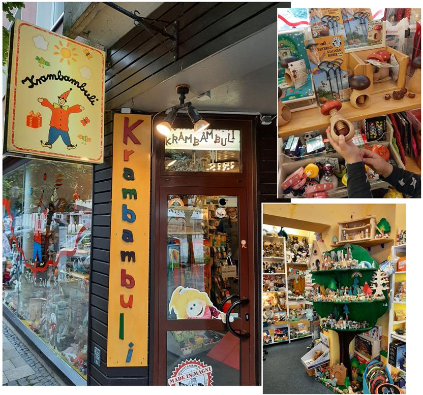 Spielzeugladen Krambambuli von außen